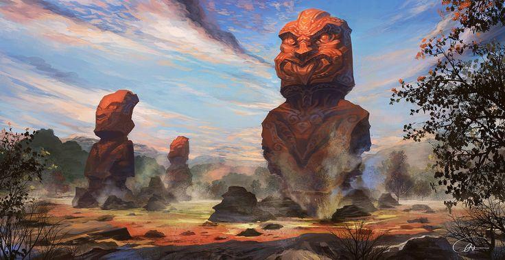 Fantasy NZ -Rutorua renewed by Ultraman0716chen on DeviantArt