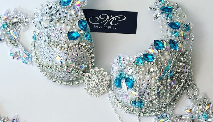 Custom made Competition suits and Designer Swimwear. Sequin & Crystal Fitness bikinis. Jeweled bikinis. All hand made. Fashionable swimwear for all occasion.