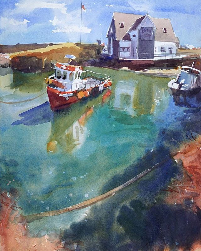 Continuing with Dungarvan theme. 42x57cm