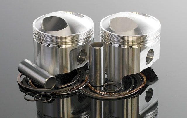 Wiseco Pistons for Classic Bikes.  Famous for its performance racing pistons, Wiseco has been making forged pistons for street motorcycles for decades. Precision forgings, state of the art CNC finishing and optimized skirt shapes make Wiseco forged pistons the best available. Designed, tested and made in the U.S.A., Wiseco pistons are available singly and in kits for a wide variety of motorcycles, including Yamaha XS650 (shown), Honda CB750, Kawasaki GPz and many more.