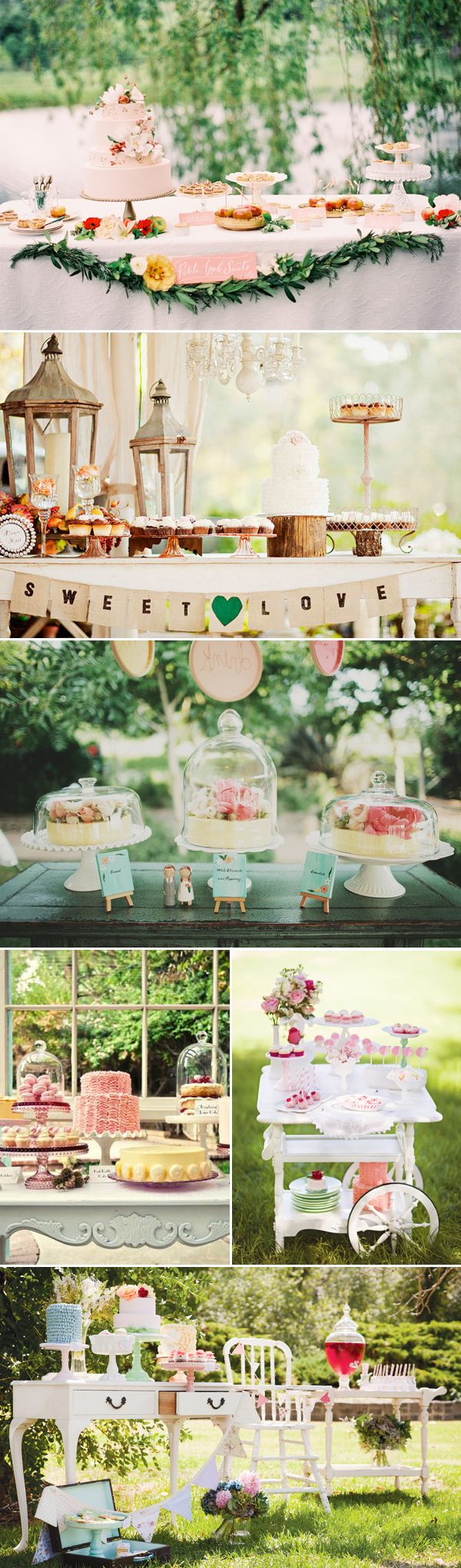 Decorating a cake or dessert table at your wedding is one of the most exciting parts of wedding decoration where you can really show off your creativity. For those of you with a sweet tooth and an army of talented bakers among your family and friends, a dessert table is also a great DIY option. …