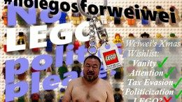 "If you don't sponsor me, that's ""oppression"" - Ai Weiwei bullies LEGO into his political activism"