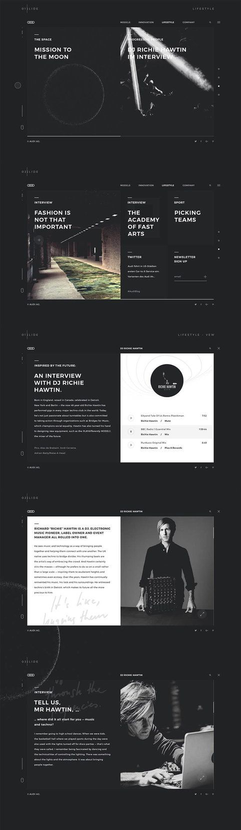 Audi3 #ui #ux #userexperience #website #webdesign #design