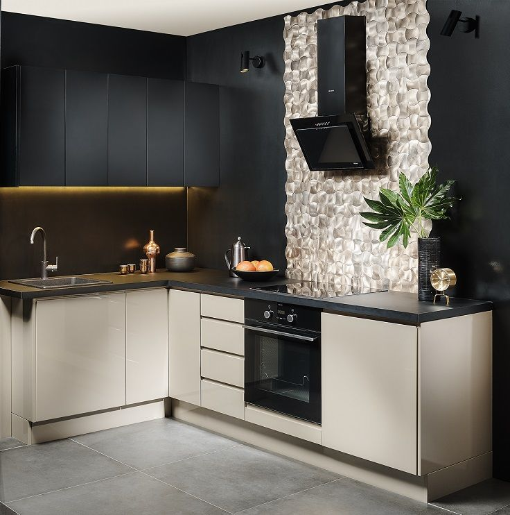 Mala Kuchnia W Eleganckim Wydaniu Home Decor Kitchen Kitchen Cabinets