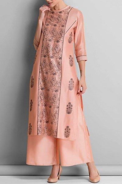 Tunics, Clothing, Carma, Pink bird embroidered tunic ,  ,  ,  ,  ,  ,  ,  ,  ,  ,  ,  ,  ,  ,
