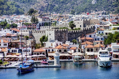 Marmaris, Turkey...great shopping and beautiful boats!