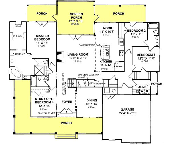 17 best images about home house plans on pinterest european house plans house plans and - Bedroom country house plans model ...
