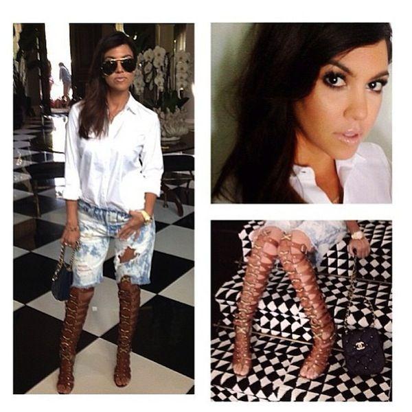 Kourtney Kardashian - Glam with Joyce Bonelli and Scotty Cunha