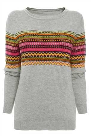 Next fairisle print sweater. Fairisle jumpers for ALL the family!