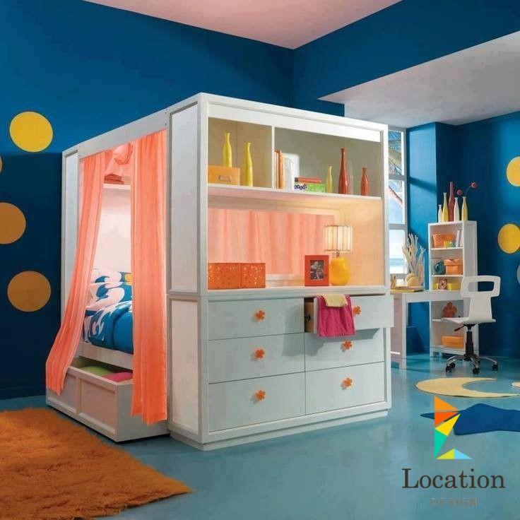 ديكورات غرف نوم أطفال 2016 بتصاميم جديدة و ألوان فاخرة - لوكشين ديزين . نت