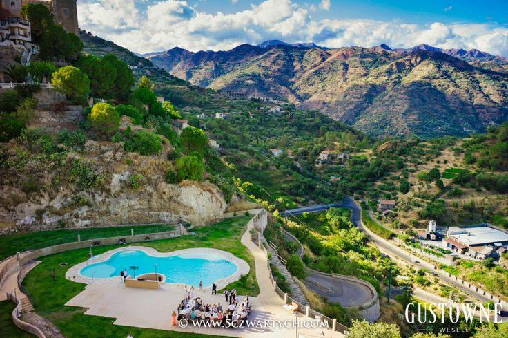 Przyjęcie weselne na Sycylii / Wedding reception in Sicily