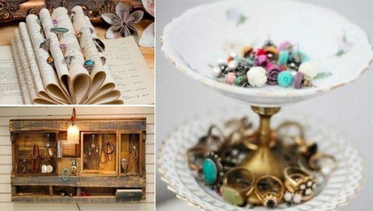 46 idées originales pour fabriquer un porte-bijoux - Des idées