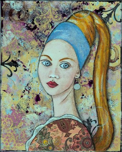 girl with a pearl earing essay English essays: girl with a pearl earring theme essay.