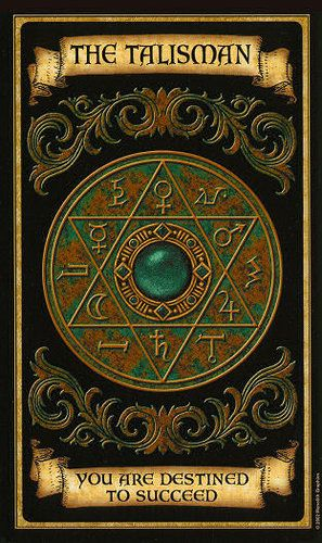 Madame Endora's Fortune Cards. The Talisman 40.