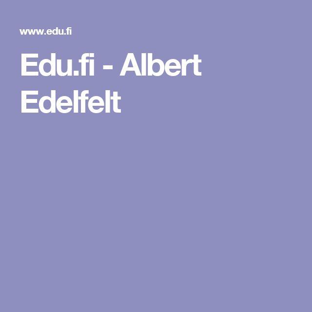 Edu.fi - Albert Edelfelt