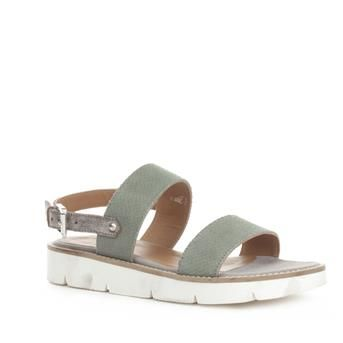 P.I.U.R.E. Sandalen Grijs | Ruim aanbod schoenen, diverse merken & de nieuwste modetrends. Koop of reserveer je schoenen online bij schoenenwinkel Brantano. Gratis levering, tevreden of geld terug!