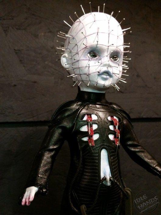 Toy Fair 2016 Mezco Horror Living Dead Dolls Pinhead from Hellraiser 05