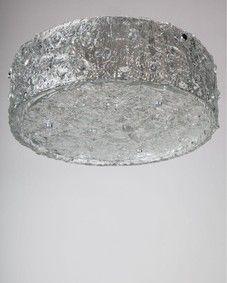 Kaiser glass flush mount