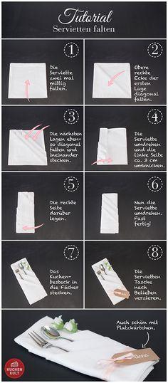 die besten 25 servietten falten lernen ideen auf pinterest origami kirigami love und. Black Bedroom Furniture Sets. Home Design Ideas