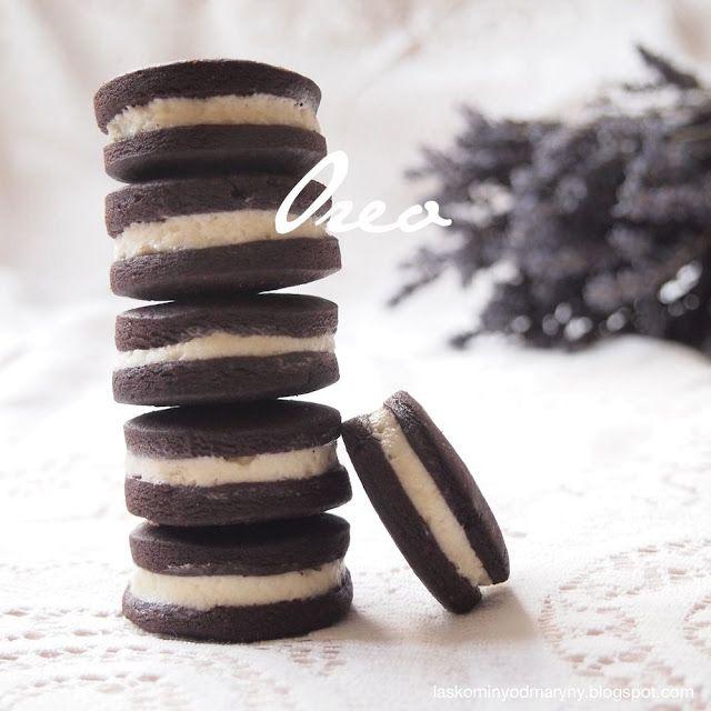 Laskominy od Maryny: Čokoládové sušenky à la Oreo