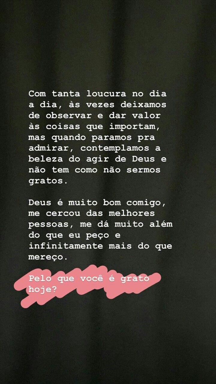 Pin De Wycky Vieira Em Nova Criatura Seja Grato Grato E Valorize