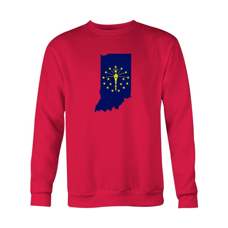 *HOLIDAY SPECIAL* Indiana Flag Crewneck Sweatshirt