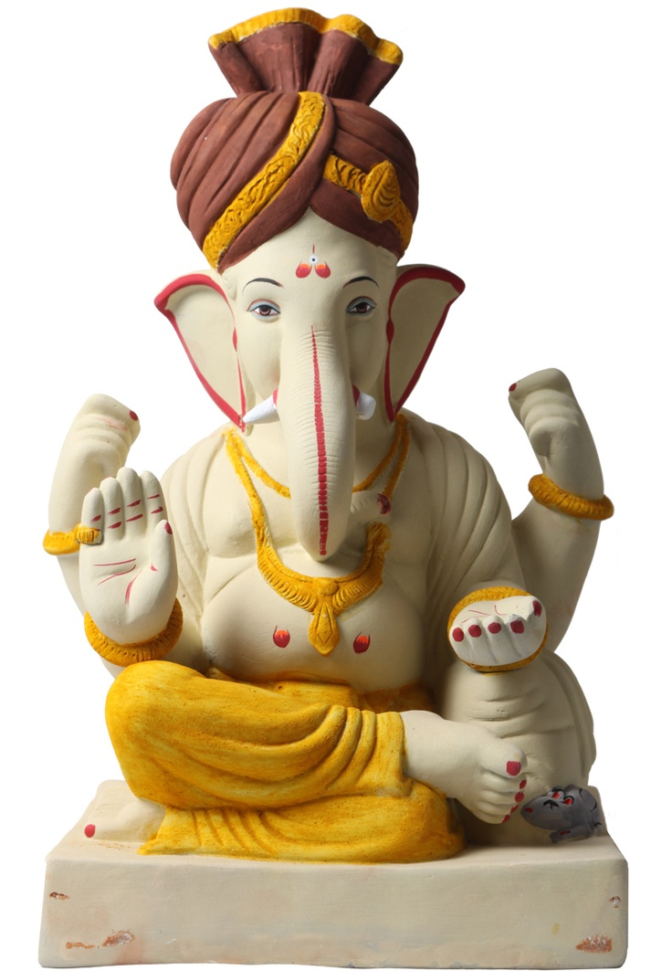 The Bombay Store has introduced a line of Eco Friendly Ganesha Idols off its shelves for the coming festival of Ganesh Chaturthi this year. These beautifully sculpted idols are completely free of chemical content and completely bio degradable. The Bombay store has tied up with eCoexist, a social enterprise for these Eco Friendly Ganesha idols.