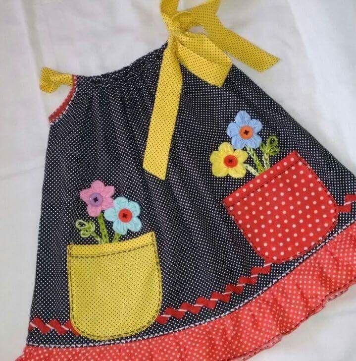 Pin de Mylinda em Kids Vestidos infantis, Meninas