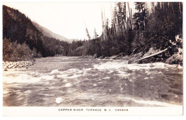 BC – TERRACE, Copper River c.1924-1949 RPPC