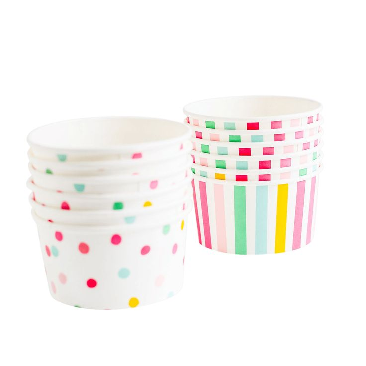 This charming partyware collection was developed while daydreaming of a classic children's party.  With interchangeable pieces, the range can easily suit everyt
