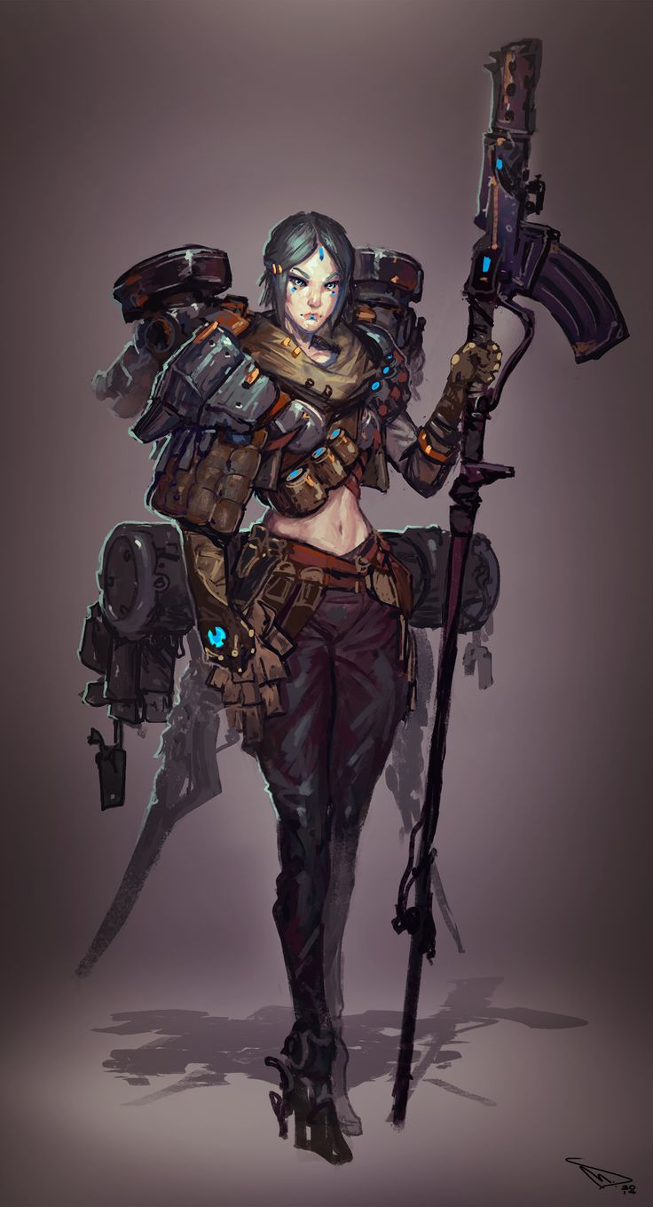 Polycount Forum - View Single Post - Polycount's Sketch Thread!