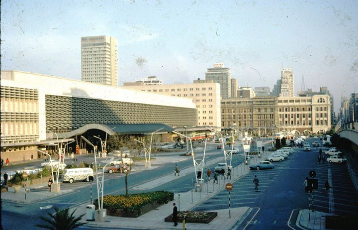 Johannesburg Station late 1960's