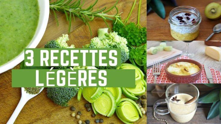 21 idées de plats légers pour le repas du soir | Recette en 2020 | Idée repas léger, Recette ...