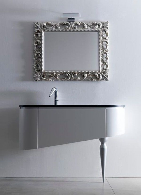 Making A Classic Vanity Look Modern Kult By Lacev Mobilacev Interior Design Pinterest