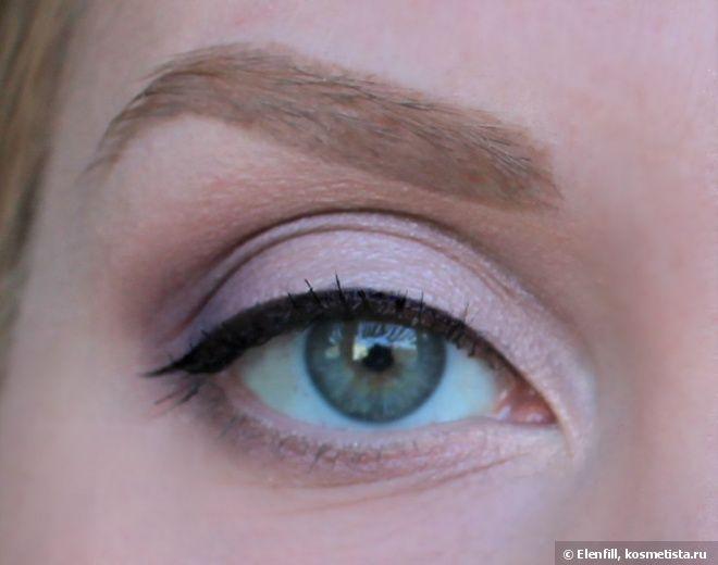 """Натуральный макияж глаз с """"запрещенными"""" стрелками — Отзывы о косметике — Косметиста"""