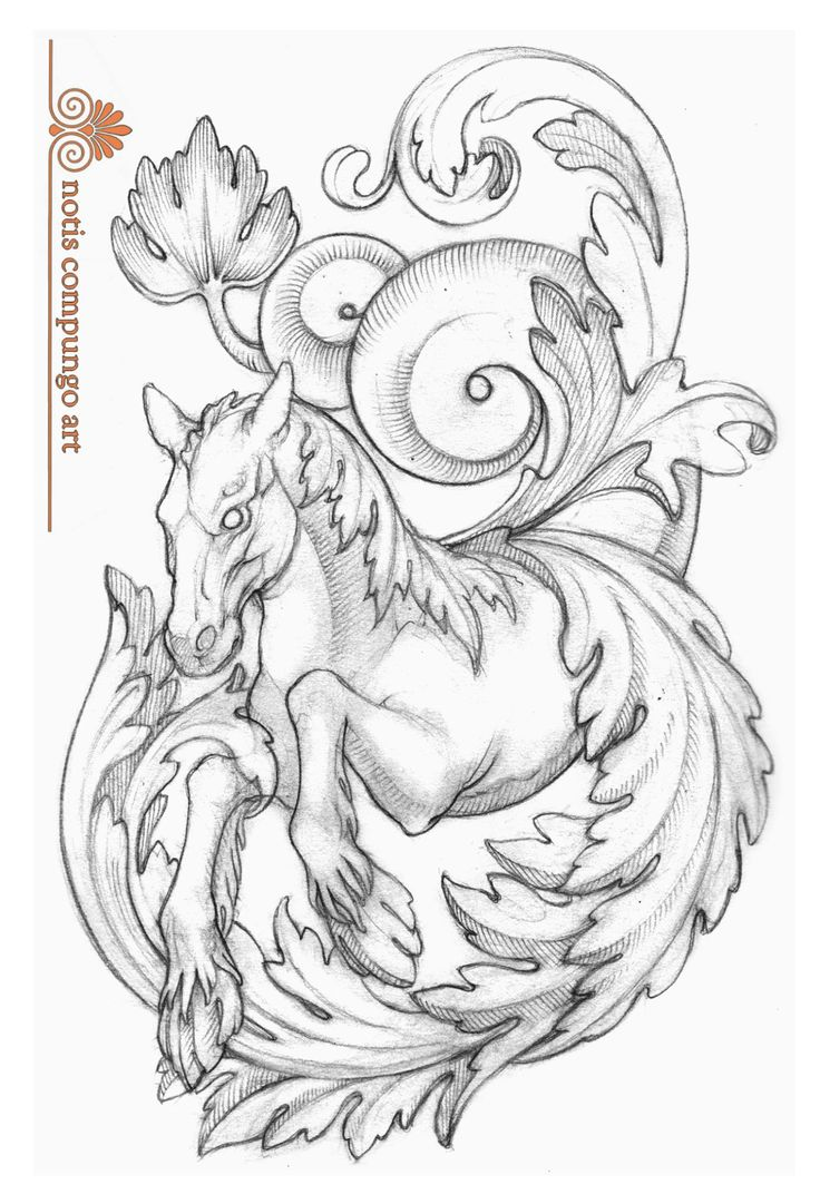 Baroque hippocampus