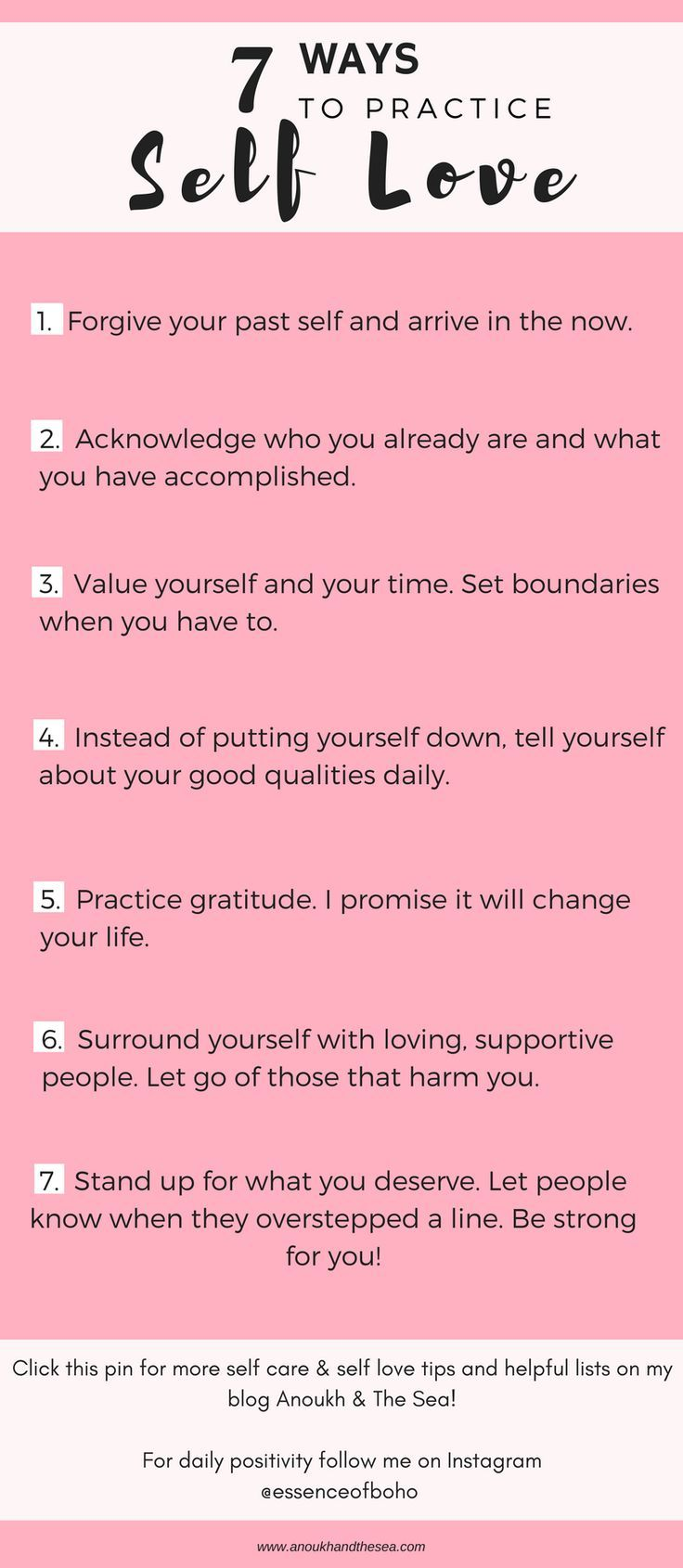 The 7 Steps to Self Love – Best Of Anoukh & The Se…