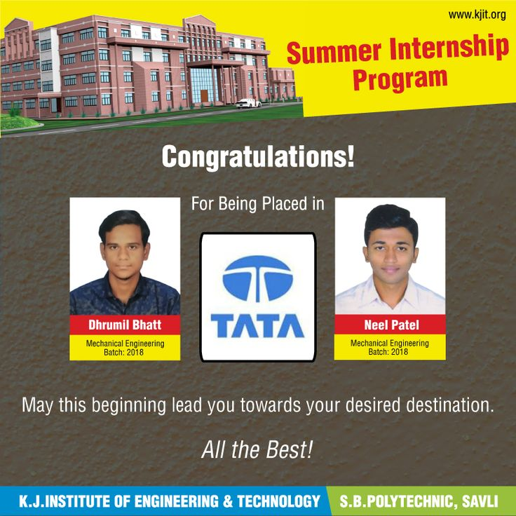 164 best college updates images on pinterest electrical for Internship for mechanical engineering students in tata motors