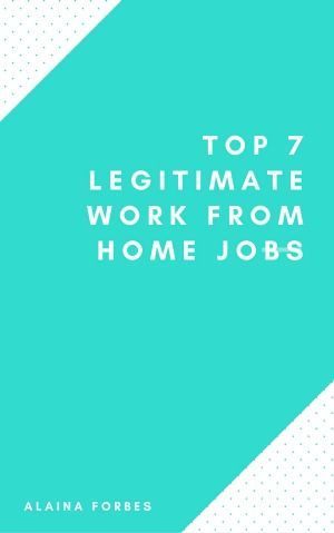 """Get a free copy of this ebooklet """"Top 7 Legitimate Work from Home Jobs"""" and find tons of work from home options! #wahm #workathome"""