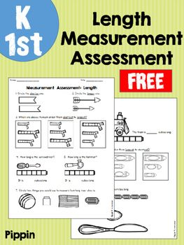 Quick assessment to be used at the end of a measurement unit on length using non-standard units of measurement such as cubes, paperclips, or blocks.  Skills covered:- Comparing two objects and identifying the shorter or longer one- Ordering objects in order from shortest to longest and longest to shortest- Measuring items using cubes and identifying its length- Choosing which non-standard unit would be the best choice for measuring a shoe- Determining which of three objects match a given…