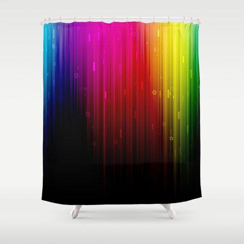 Shower Curtain Art Curtain Home Decor Bathroom Curtain by NikaLim
