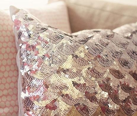 sequin throw pillow #17BestRoomEver