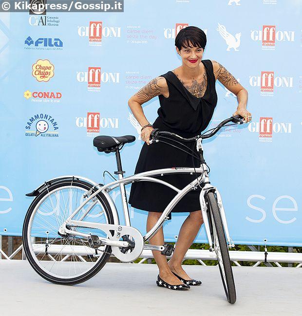 Asia Argento al Giffoni Film Festival 2015