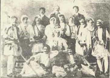 these were Greeks living in Turkey still believing that there could be peace on earth early 1900's