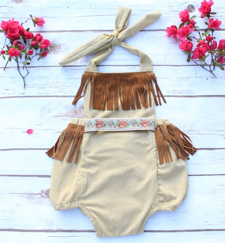 Indian Princess Baby Halloween Costume Birthday Cowboys and Indians theme party by ShopBelleThreads on Etsy https://www.etsy.com/listing/235121648/indian-princess-baby-halloween-costume