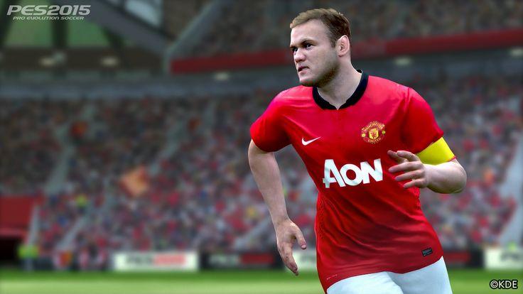 Pro Evolution Soccer 2015 - Wayne Rooney - http://www.cartoonography.com/1673-pro-evolution-soccer-2015-wayne-rooney.html