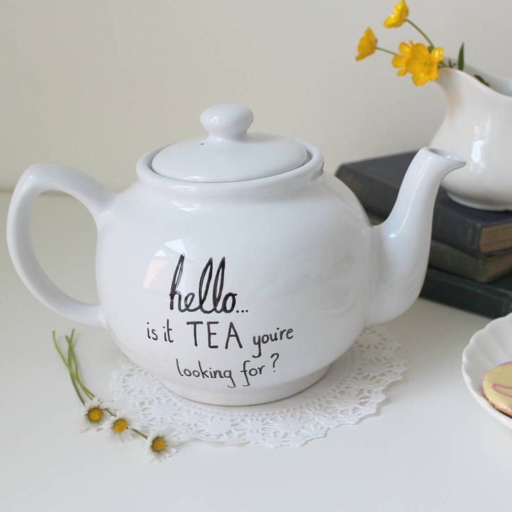 'Is It Tea You're Looking For?' Teapot. Yes Yes Yes!!