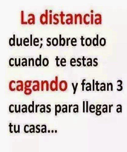 La distancia duele... #humor #distancia #chiste #jokes #funny #cagar