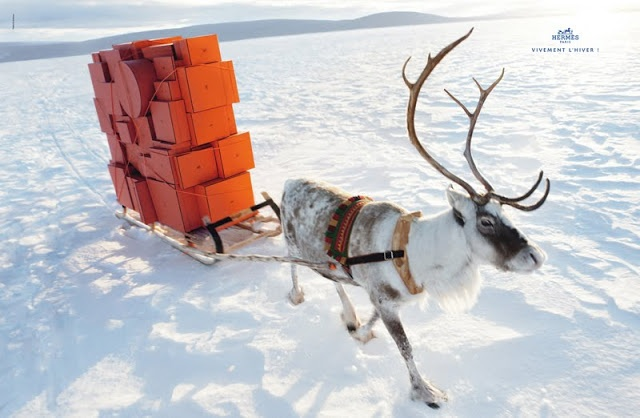 Santa does exist!: Gift, Hermes, Ads Campaigns, Couture, Fashion Blog, Winter Must Have, House, Fall Winter, Special Delivery