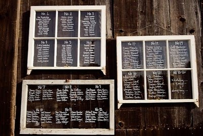 #Seating #chart written on old #window panes